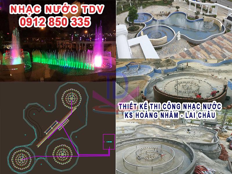 Thi công đài phun nước Hà Nội chuyên nghiệp – trọn gói TKTC